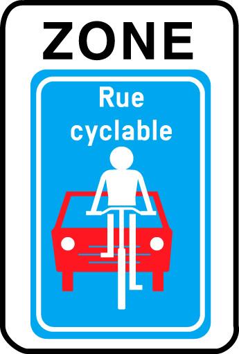 F111 - Zone rue cyclable